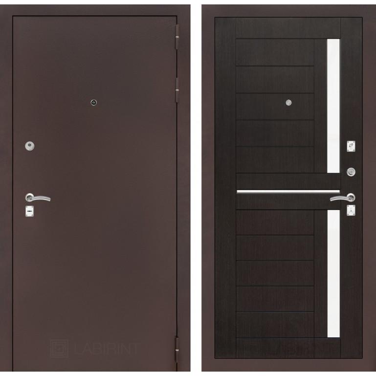 Дверь Лабиринт Classic 02 (Антик медный / Венге)