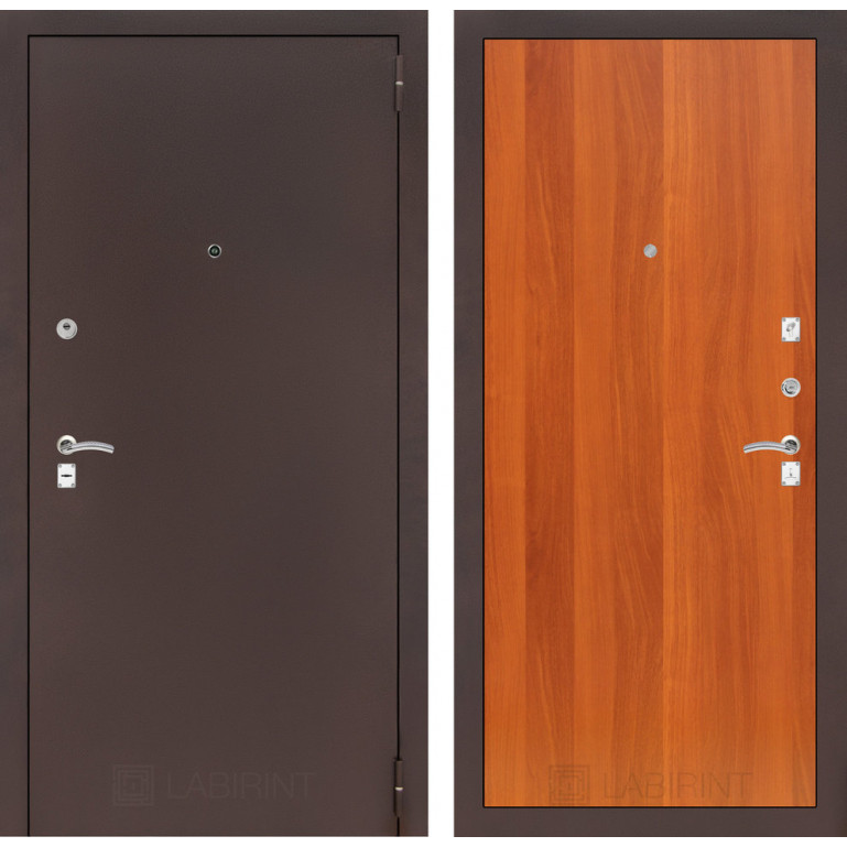 Дверь Лабиринт Classic 05 (Антик медный / Итальянский орех)