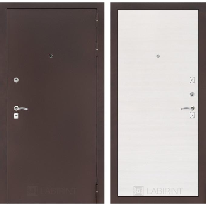 Дверь Лабиринт Classic 07 (Антик Медный / Перламутр горизонтальный)