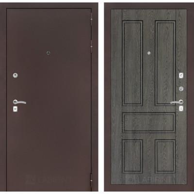 Дверь Лабиринт Classic 10 (Медный антик / Дуб филадельфия)