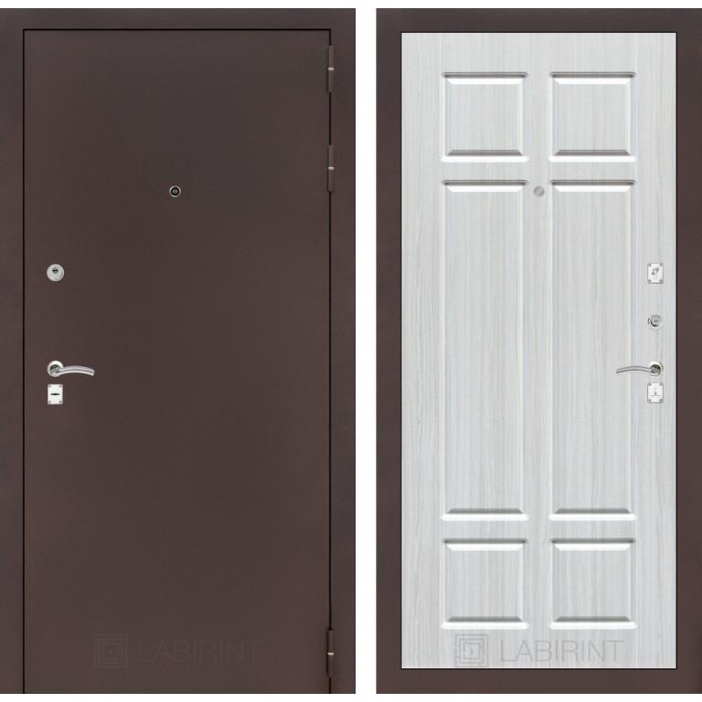 Дверь Лабиринт Classic 08 (Медный антик / Кристалл вуд)