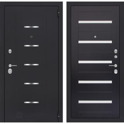 Стальная дверь Лабиринт ALFA 01 (Венге)