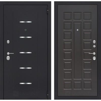 Стальная дверь Лабиринт ALFA 04 (Венге)