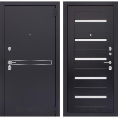 Стальная дверь Лабиринт LINE 01 (Венге)