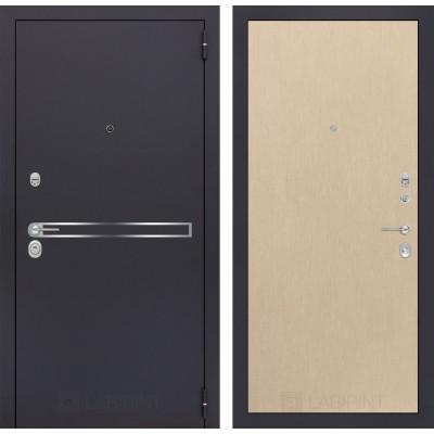 Стальная дверь Лабиринт LINE 05 (Беленый дуб)