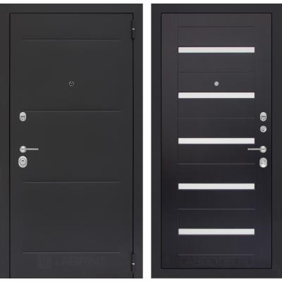 Стальная дверь Лабиринт LOFT 01 (Венге)