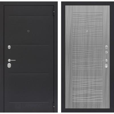 Стальная дверь Лабиринт LOFT 06 (Сандал серый)