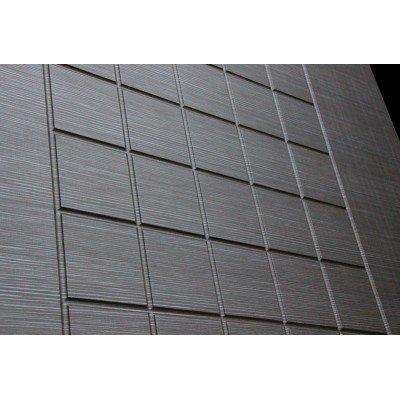 Стальная дверь Лабиринт SCANDI 09 (Лен сильвер грей)
