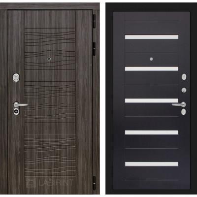 Стальная дверь Лабиринт SCANDI 01 (Венге)
