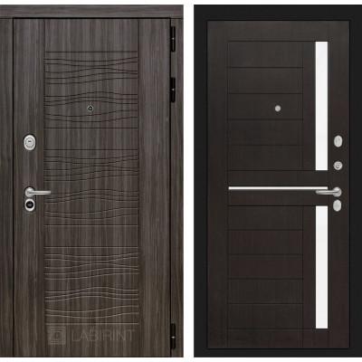 Стальная дверь Лабиринт SCANDI 02 (Венге)