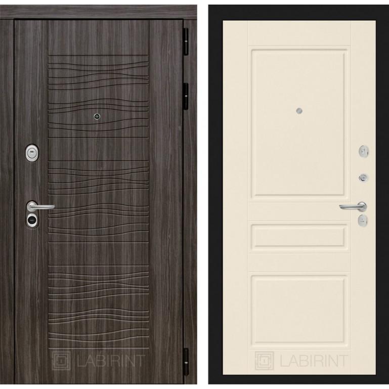 Стальная дверь Лабиринт SCANDI 03 (Крем софт)