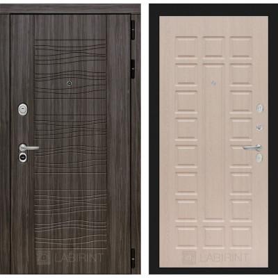 Стальная дверь Лабиринт SCANDI 04 (Беленый дуб)