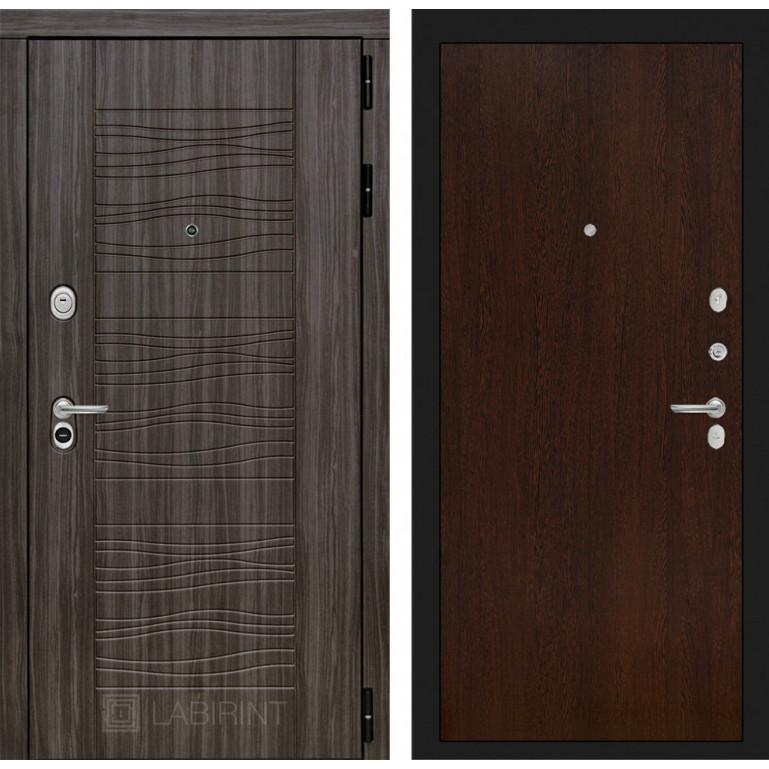 Стальная дверь Лабиринт SCANDI 05 (Венге)