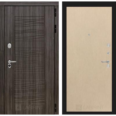 Стальная дверь Лабиринт SCANDI 05 (Беленый дуб)