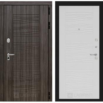Стальная дверь Лабиринт SCANDI 06 (Белое дерево)
