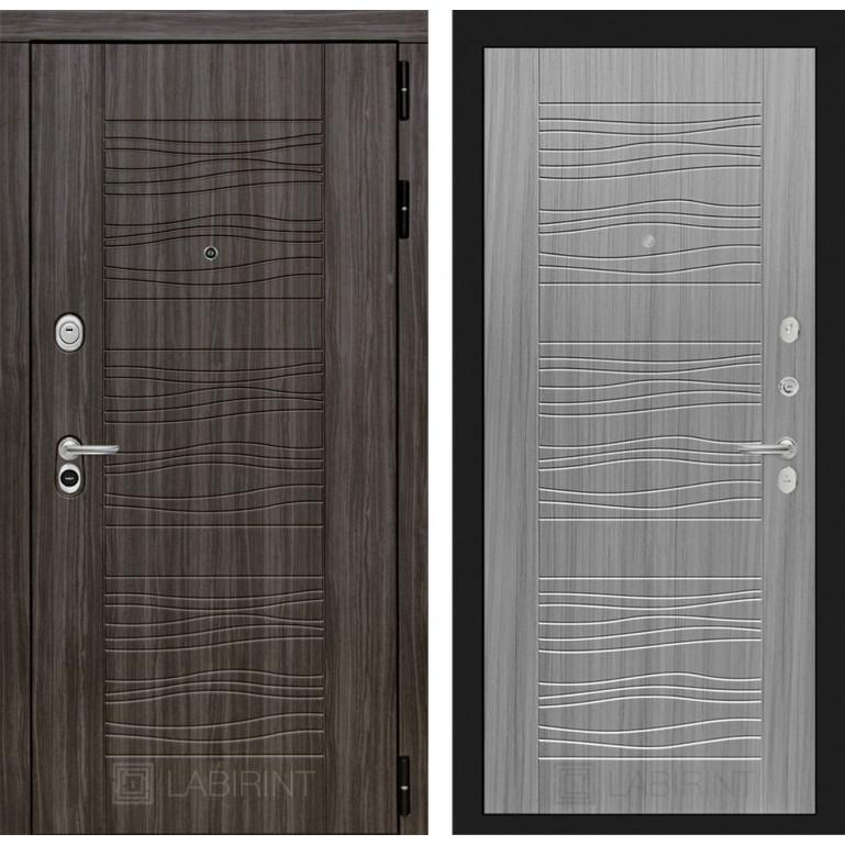 Стальная дверь Лабиринт SCANDI 06 (Сандал серый)